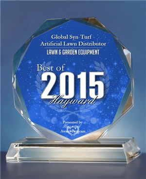syntheticgrass Global Syn-Turf Has Been Recognized As the Best Lawn & Garden Equipment Company in Hayward, SF Bay Area, California