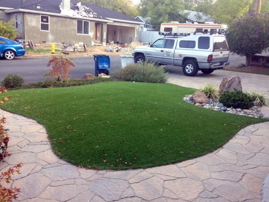 Artificial Grass Photos: Artificial Grass Installation Pasco, Washington Lawns, Front Yard Landscaping