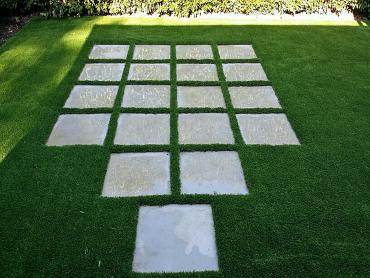 Artificial Grass Photos: Fake Lawn Chinook, Washington Paver Patio, Backyard Makeover