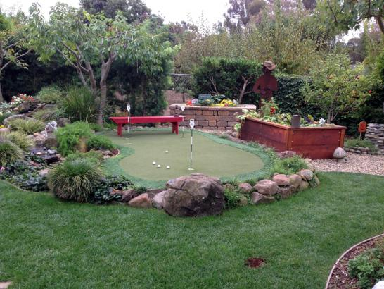 Artificial Grass Photos: Fake Lawn Tri-Cities, Washington Paver Patio, Backyard Design